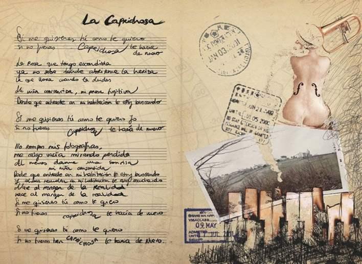Ilustraciones de Gloria Hdez. Serrano para el CD California
