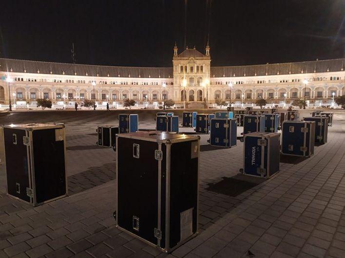 movilizaciones de MUTE en diferentes ciudades de España