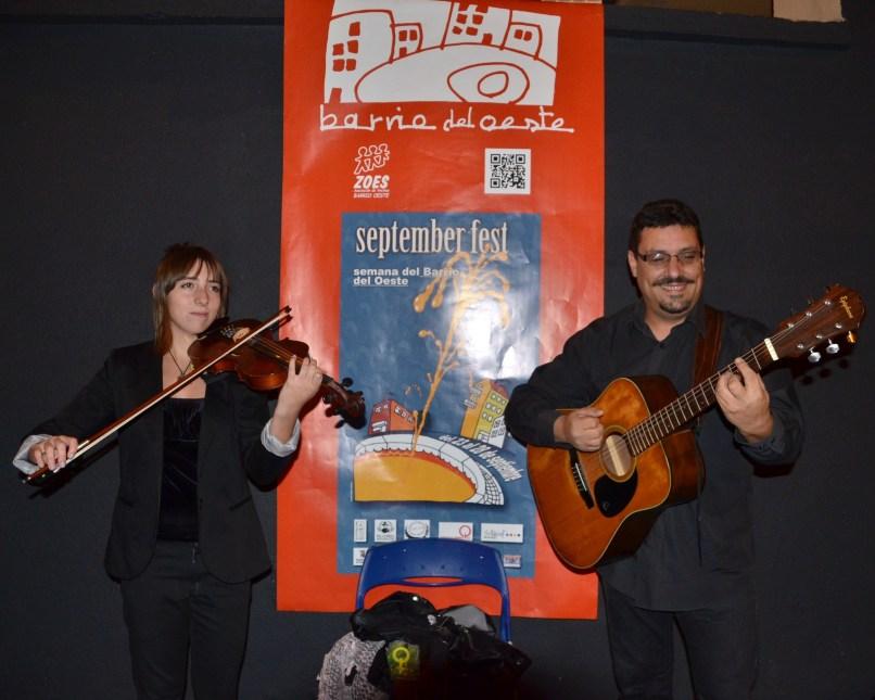 Actuación en el Espacio Papín durante la September Fest.