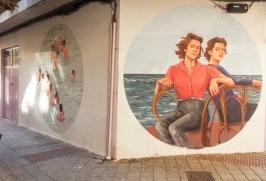 Mujeres protagonistas del mural