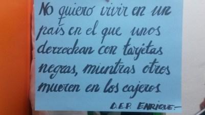 Mensajes de cariño a Enrique