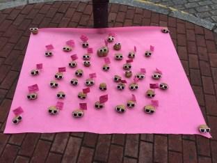 La Plaza del Oeste se suma al rosa