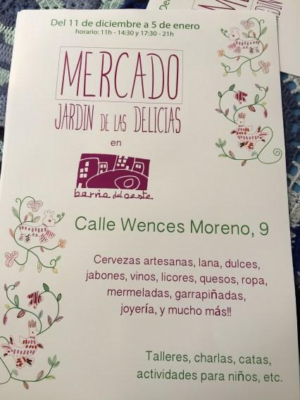 Inauguración del Jardín de las Delicias