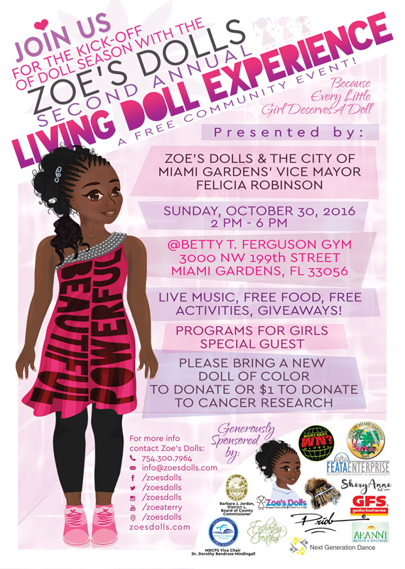 Zoe's Dolls Living Doll Experience 2016