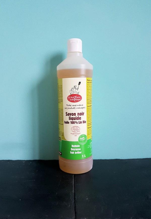 Savon noir huile de lin