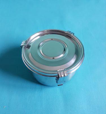 Boite inox diamètre 12 cm