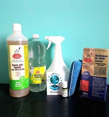 kit nettoyant multi usage et sols toute option