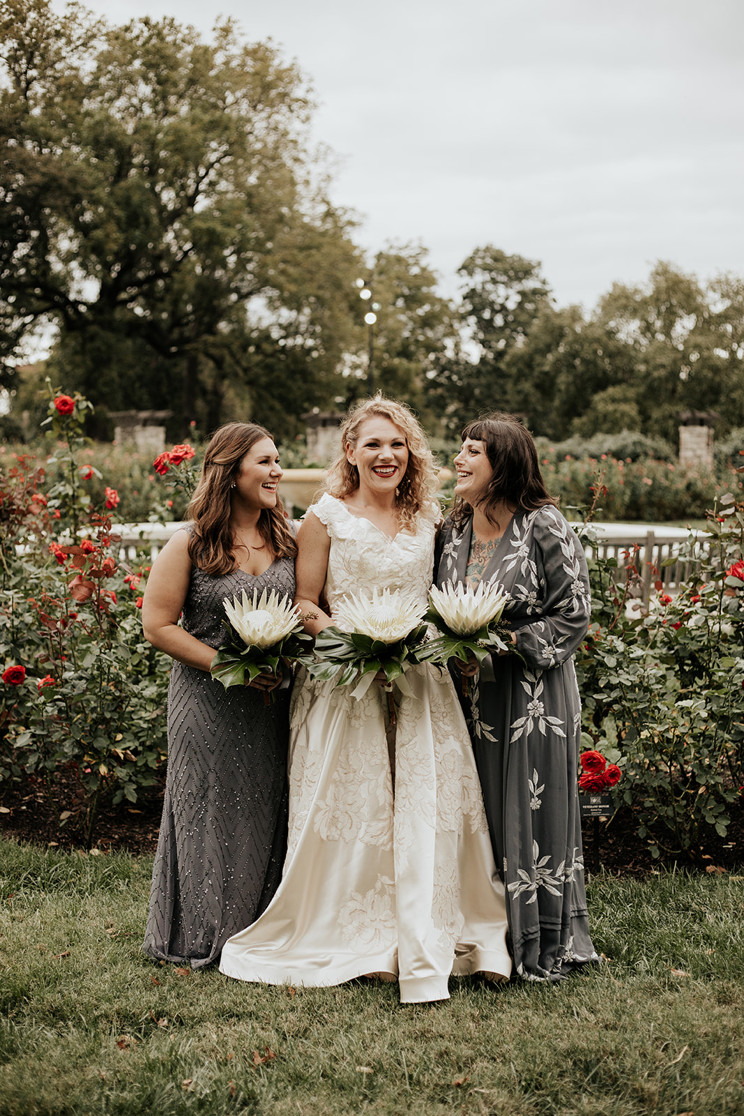 Intimate Kansas City Wedding Loose Park