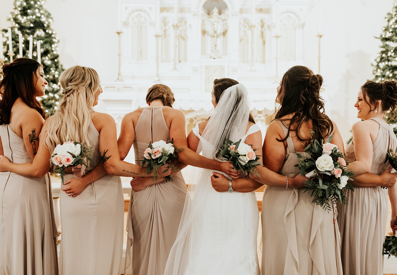 Elegant Midwest Winter Weddinga