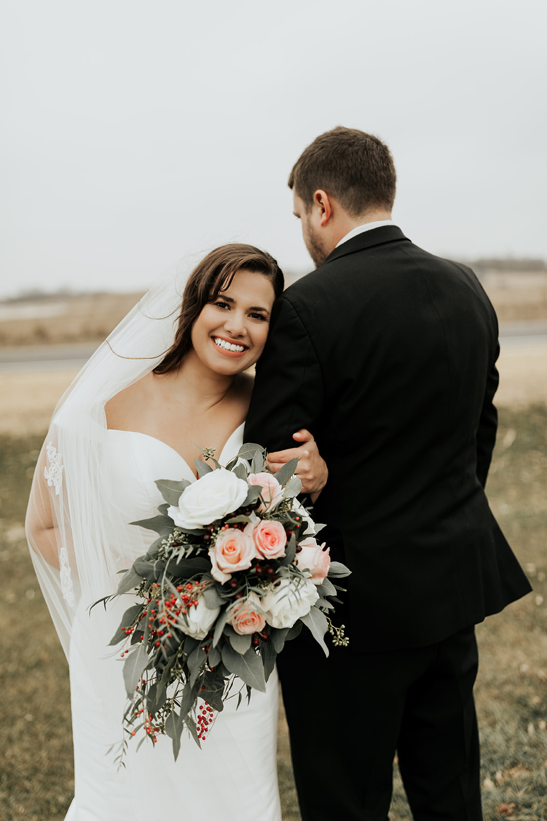 Elegant Midwest Winter Wedding