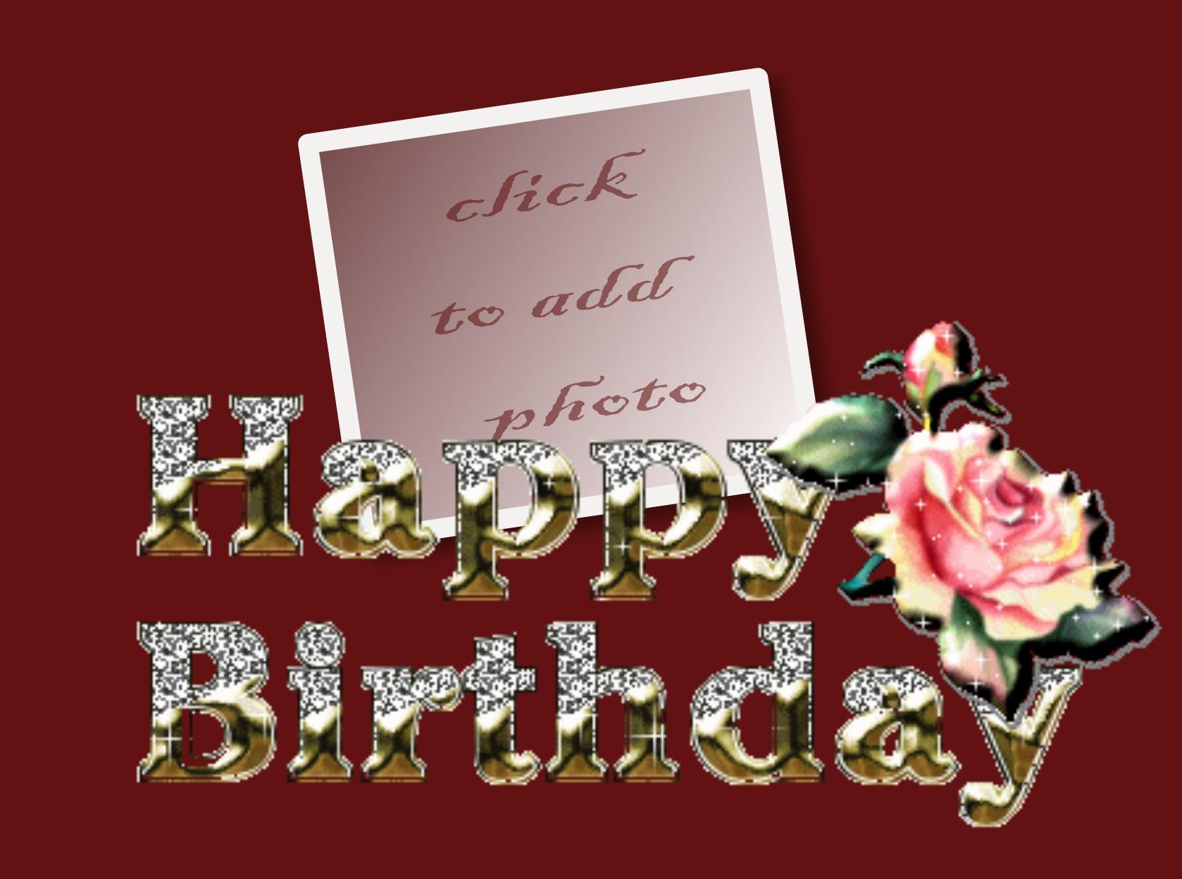 Imikimi Zo Birthday Frames Happy Birthday Birthday Anniversaire Flower Family Claudine1543