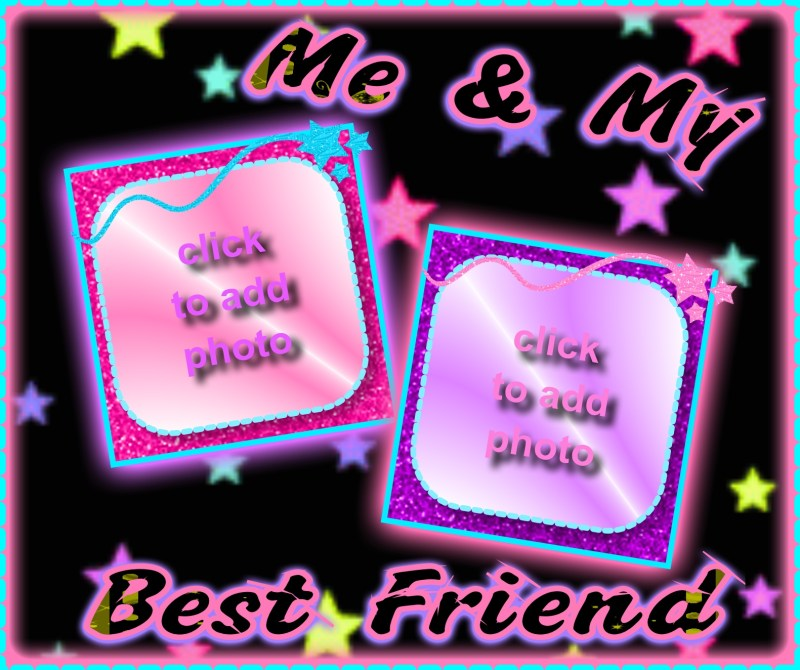 Best Friends Forever Photo Frame Frameboborg