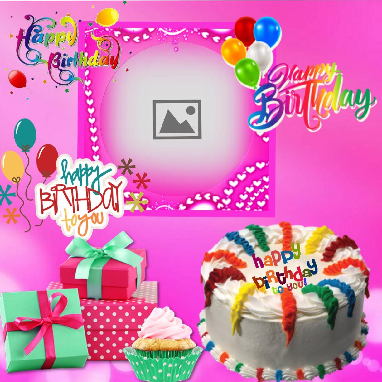 Imikimi Happy Birthday Frame Birthday Party