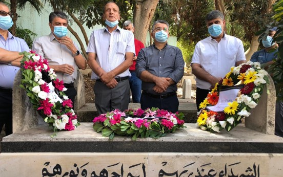 טכסי זיכרון לציון 20 שנה לאירוע אוקטובר 2000 במהלכם נהרגו 13 מפגינים ערבים