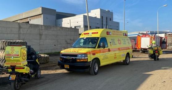 טרגדיה באשדוד: שני פועלים נהרגו מפיצוץ מיכל גז במפעל מתכת