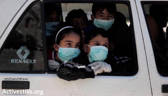 ישראל חייבת לספק חיסונים לפלסטינים בגדה המערבית וברצועת עזה