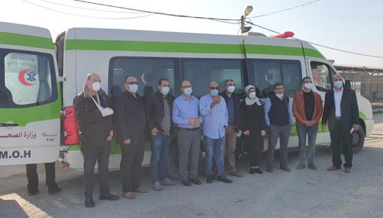 המאבק בנגיף הקורונה: משלחת של 12 רופאים מישראל נכנסה לרצועת עזה