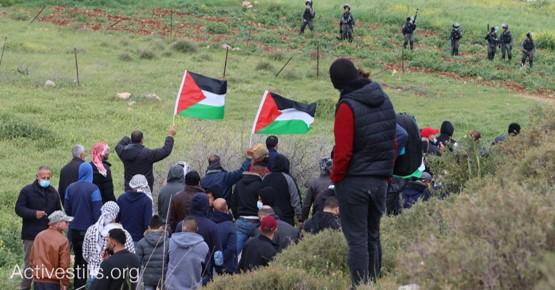 הקומוניסטים הפלסטינים יציינו את יום האדמה בהפגנה ליד בית דג'ן ממזרח לשכם