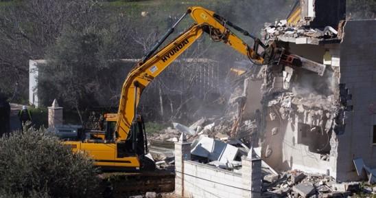 """על פי נתוני האו""""ם: תוך שבועיים רשויות הכיבוש הרסו 26 מבנים פלסטינים בגדה ובי-ם"""