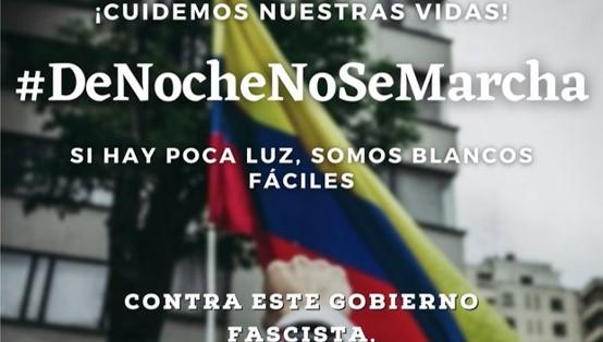 נמשך המרד העממי בקולומביה; אירוע סולידריות ביום א' בכיכר הבימה