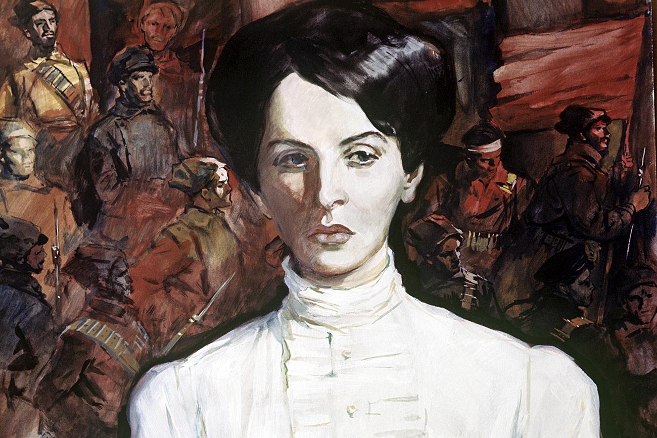 """אינסה ארמנד: מנהיגת נשים ומהדמויות הבולטות בבריה""""מ נולדה ב-8 במאי 1874"""