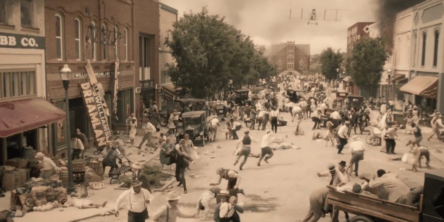 """הפוגרום בתושבי טולסה, אוקלוהומה (ארה""""ב) השחורים ; 31 במאי 1921"""