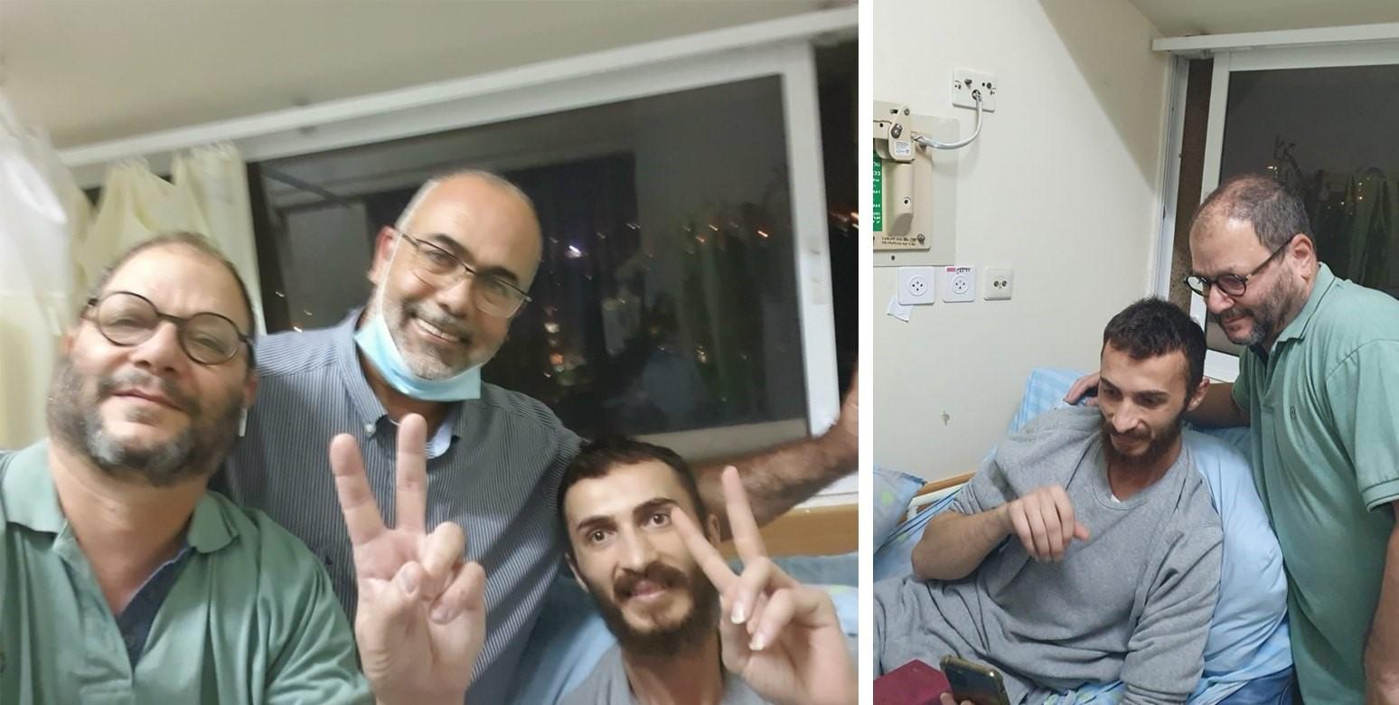 """לאחר ביקור של ח""""כ כסיף: בג""""ץ הקפיא מעצר מינהלי של פלסטיני ששבת רעב 50 יום"""