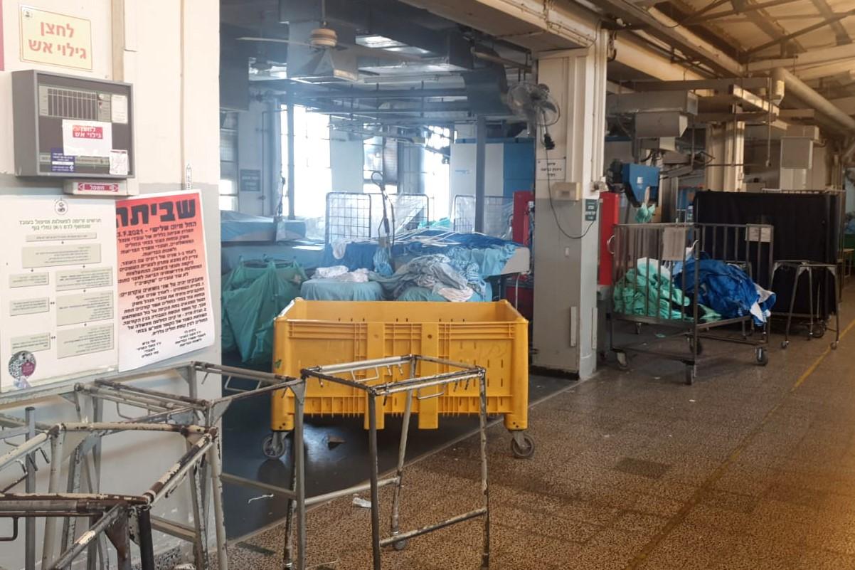 עובדי מעבדות ופיזיותרפיסטים מצטרפים לשביתת עובדי המנהל והמשק בבתי החולים