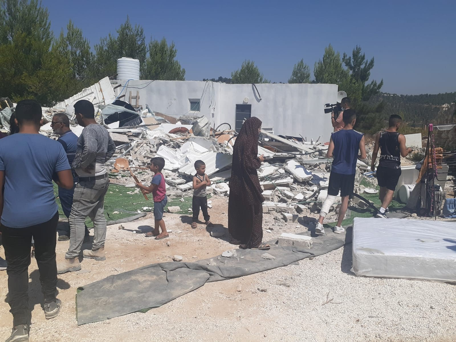 """חד""""ש ירושלים על הריסת בתים בכפר ולאג'ה: העירייה היא זרוע של הכיבוש"""