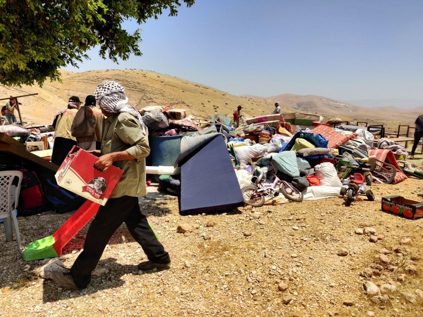 """הארגון """"לוחמים לשלום"""" מבקש מבית הדין הפלילי הבינלאומי לפתוח בחקירת הרס בתים בבקעת הירדן"""