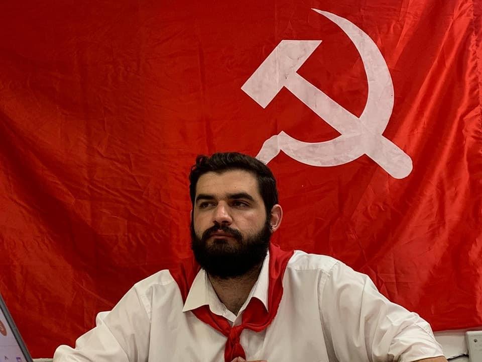 """מזכ""""ל ברית הנוער הקומוניסטי הישראלי החדש שאדי נסאר:לחיזוק המאבק המעמדי המשותף"""