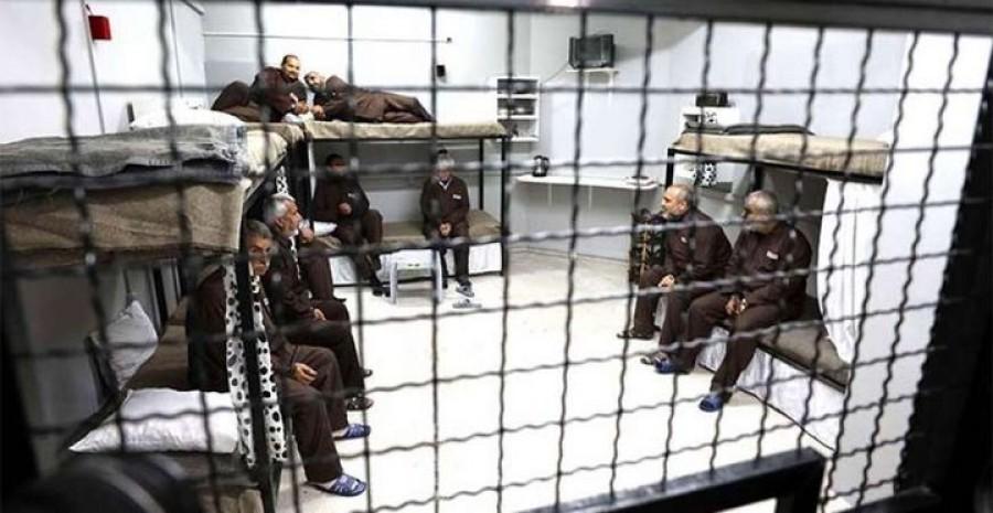 בוטלה שביתת הרעב של אלפי אסירים פלסטינים בבתי הכלא הישראלים