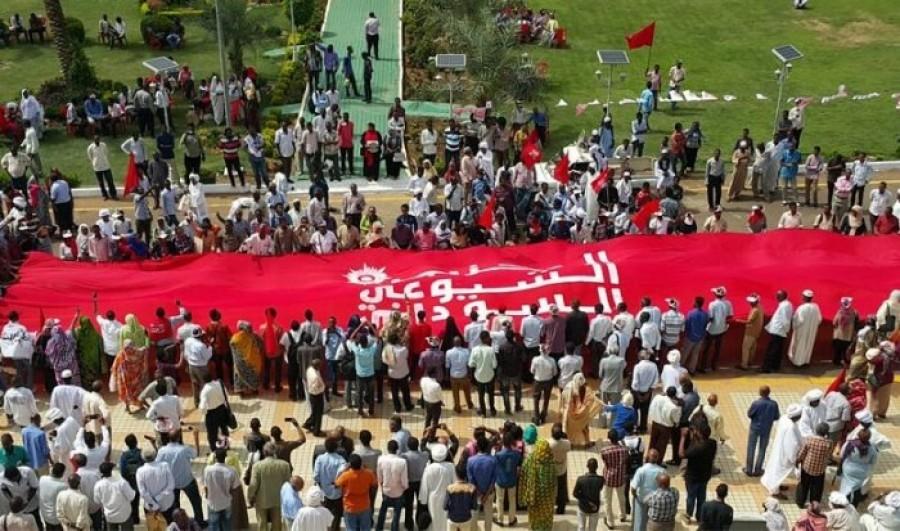 הקומוניסטים והאיגודים המקצועיים בסודאן קוראים לשביתה כללית ומרי אזרחי נגד ההפיכה