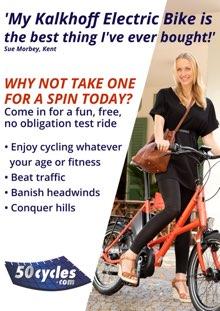 Test ride a Kalkhoff