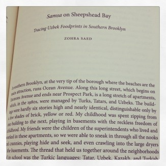 Samsa dreams in Sheepshead Bay
