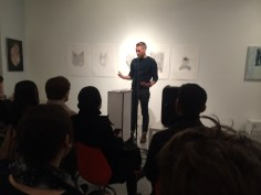 """Matthew reading excerpts of """"Slippers from Elsewhere"""" (UpSet Press 2014)"""
