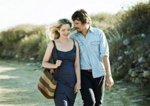 Η Ζιλί Ντελπί και ο Ίθαν Χοκ στο 'Πριν τα Μεσάνυχτα'