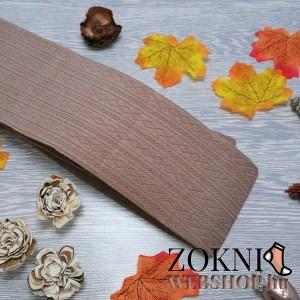 mintás bambusz harisnya AURA NHZ925-drapp
