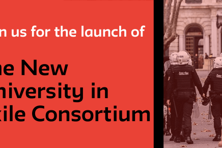 Launch of the New University in Exile Consortium