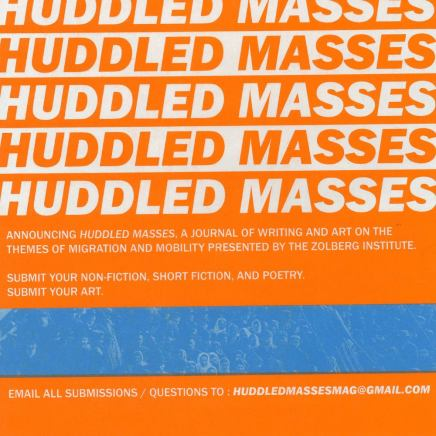 Announcing Huddled Masses