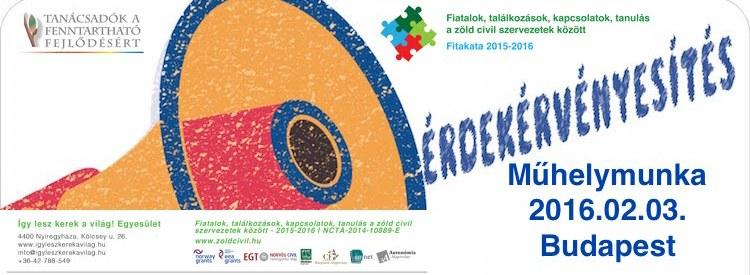 Műhelymunka: Sikeres civil érdekérvényesítési kampányok ma Magyarországon