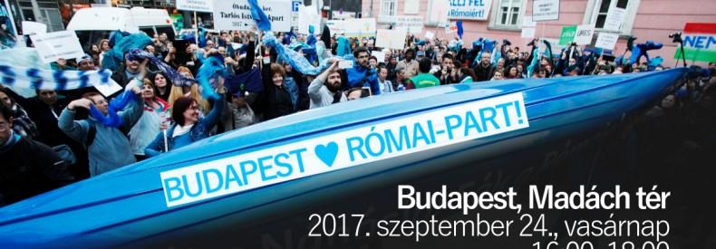 Budapest ♡ Római-part!