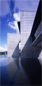 minimalist in fair-face concrete - Hong Kong Wetland Park