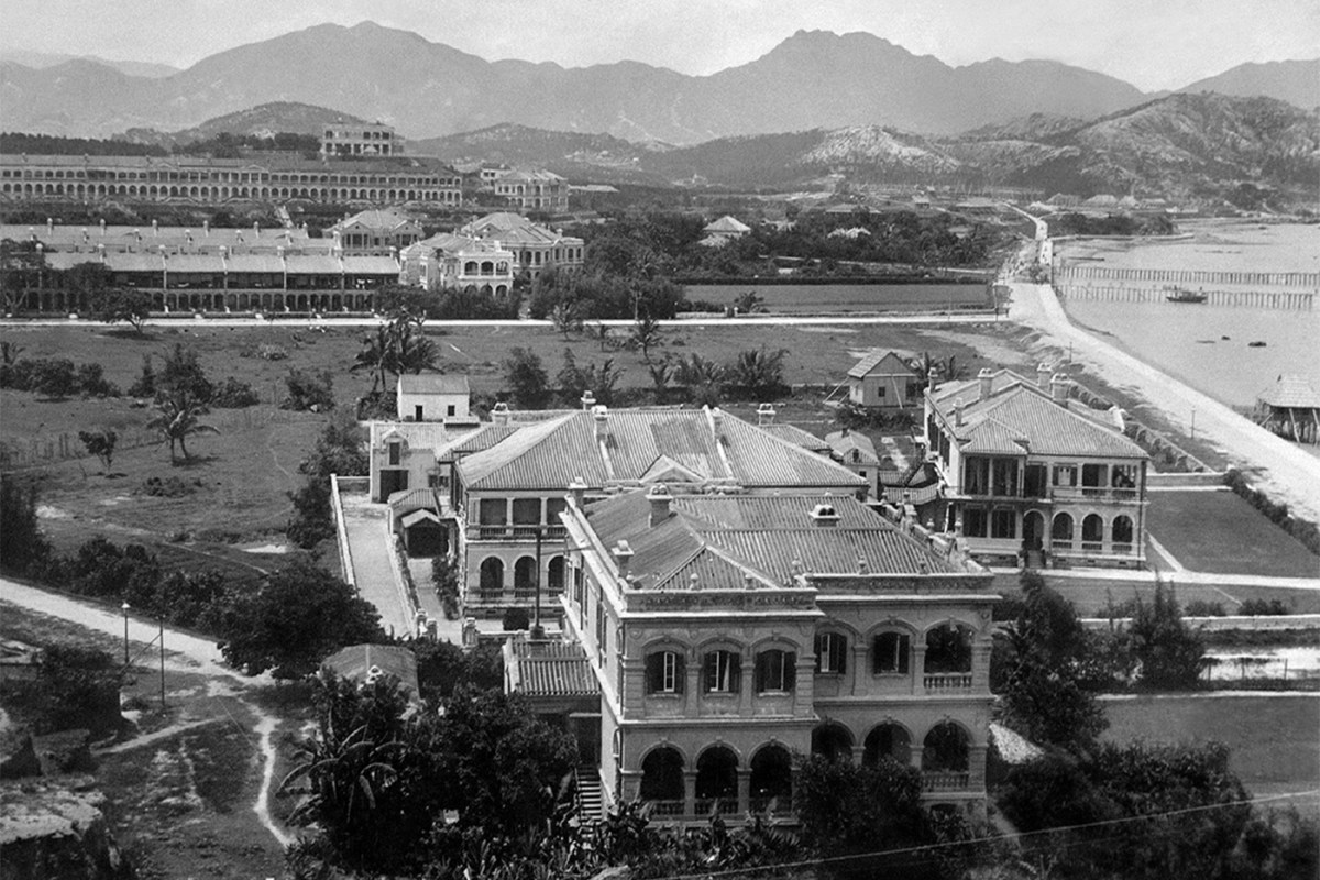 North bound view from Signal Hill, Tsim Sha Tsui, 1908 - Courtesy of Picture This Gallery