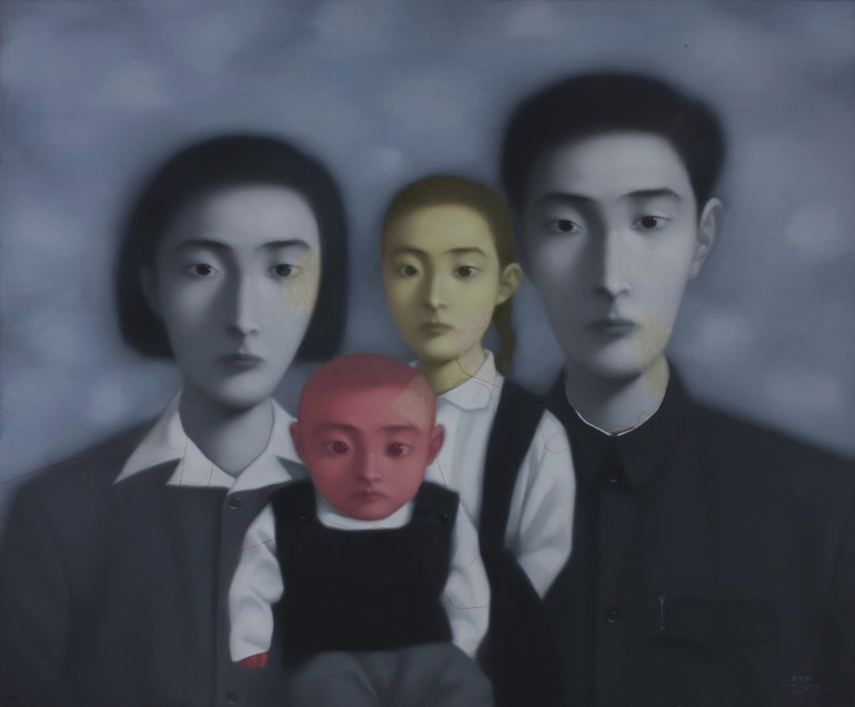 Zhang Xiaogang - Bloodline series Big Family No.17 - 1998 - M+ Sigg Collection Hong Kong
