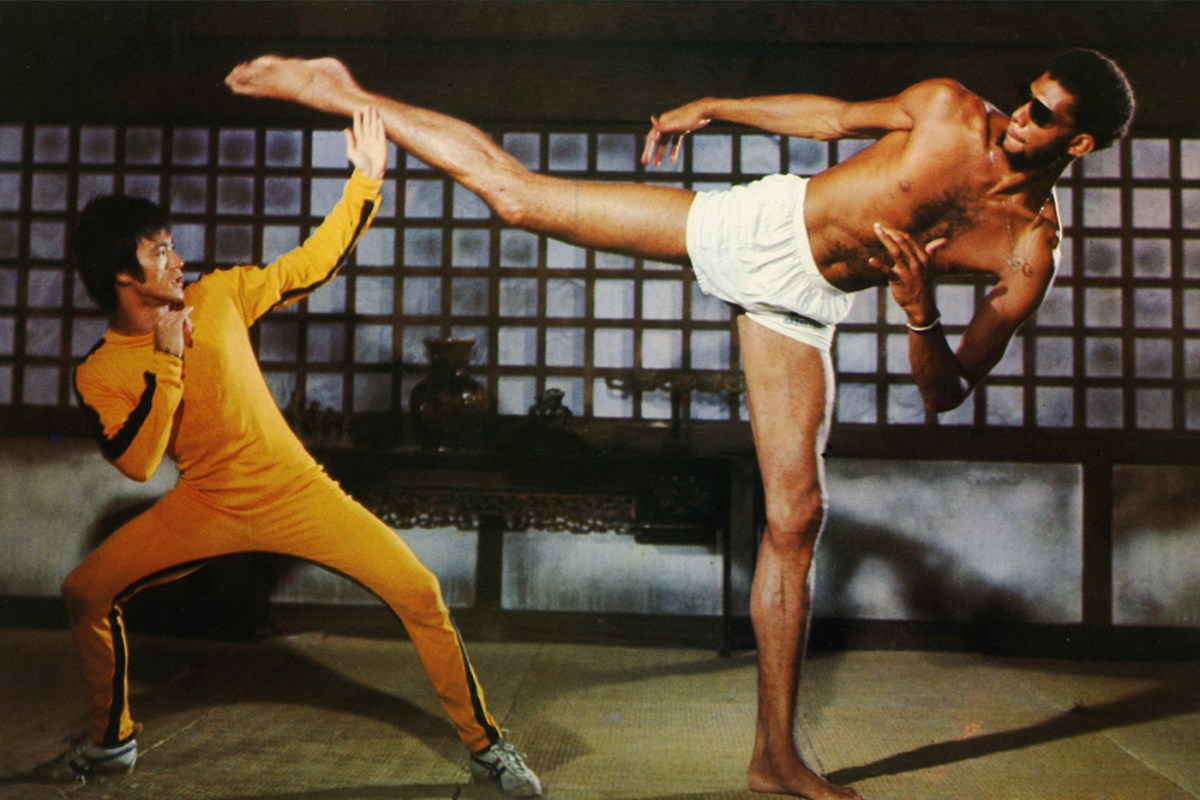 Bruce Lee in the Gameo Death