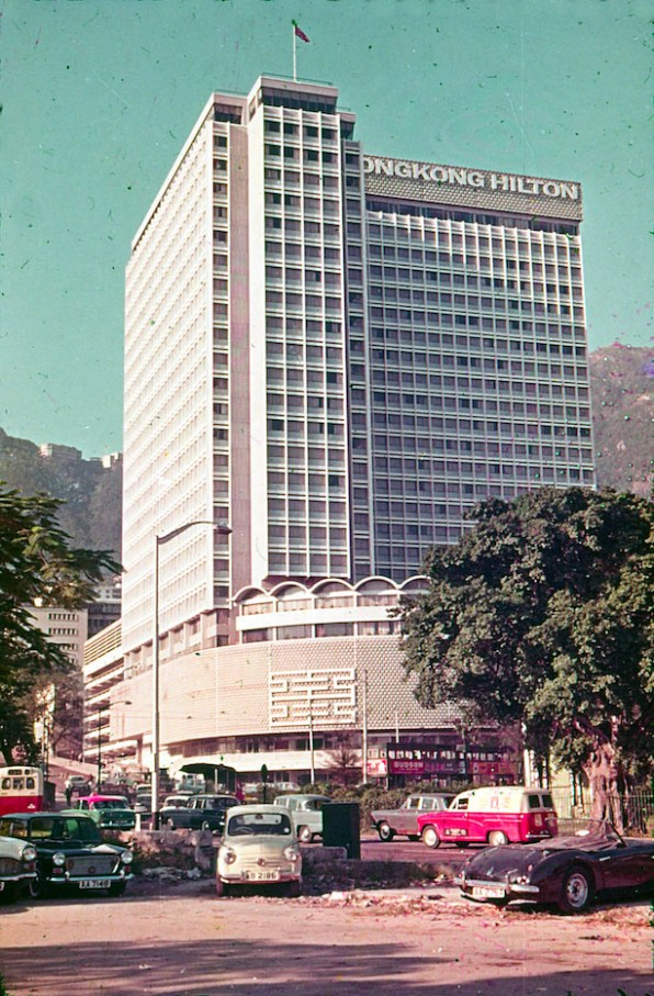Hilton Hong Kong in the 1960s. Photo from the collection of Peter Major.