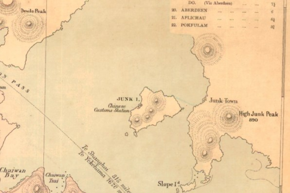 Junk Island and Slope Island - Photo courtesy of Hong Kong Historic Maps