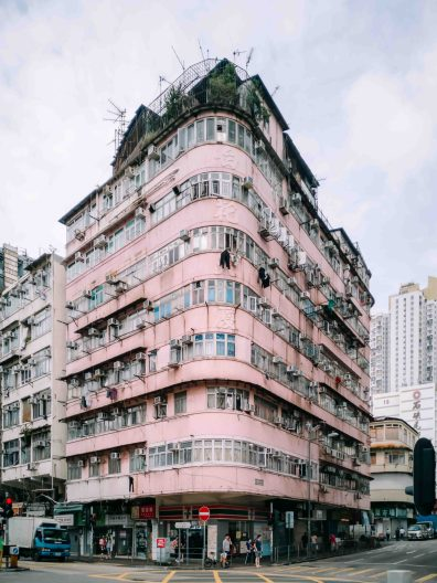 corner buildings