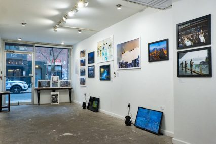 """Afterbefore"" Exhibition at New York City's Chinatown Soup January 2019"